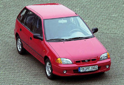 Subaru Justy 1.3GX - MY95-03