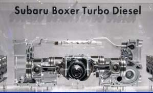 Subaru Diesel Boxer Motor 2.0 D