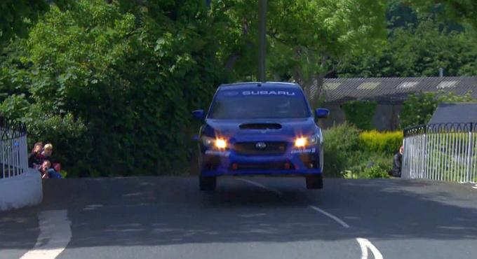 Subaru rekord a Man szigeten