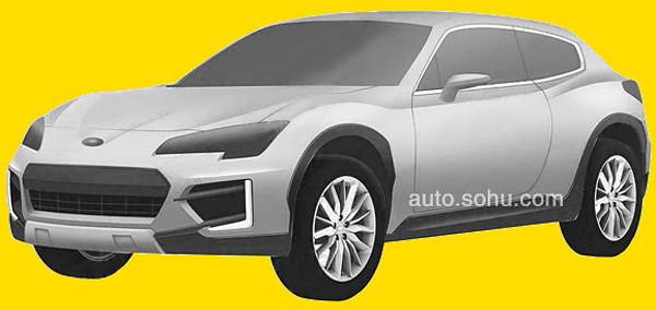 Subaru SUV Coupe