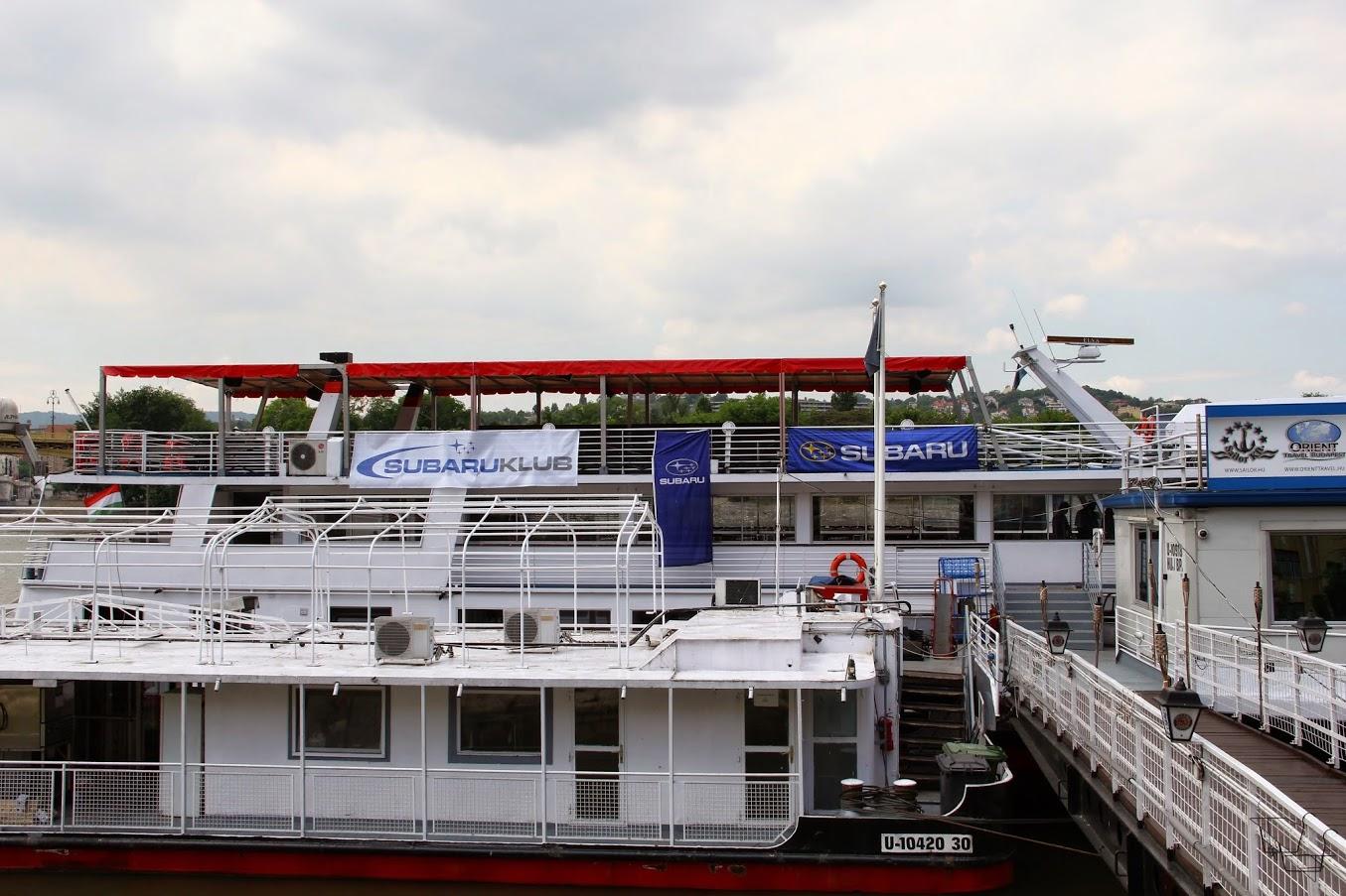 Dunai Hajózás a Subaru KLubbal 2015