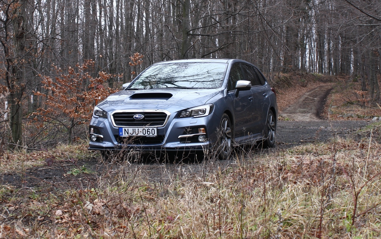 Subaru Levorg 1.6 teszt
