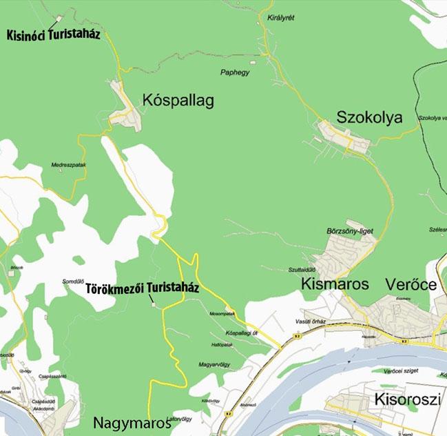 Törökmező térkép