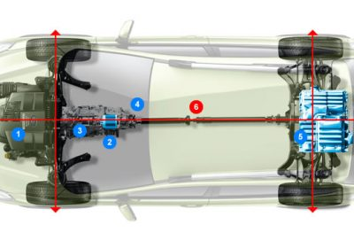 A Subaru Hybrid technológia