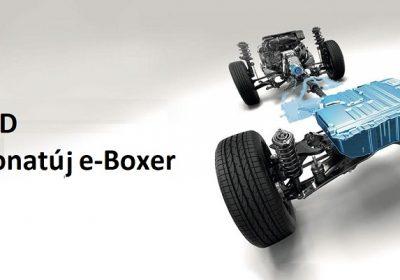 Hybrid Subaru Forester 2019 e-Boxer bemutatása