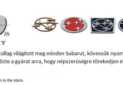 A Subaru 50 éves története képekben